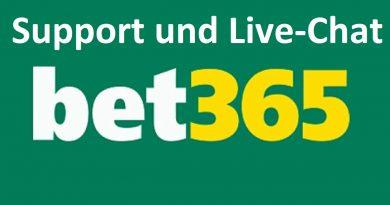 Bet365 Support und Live-Chat