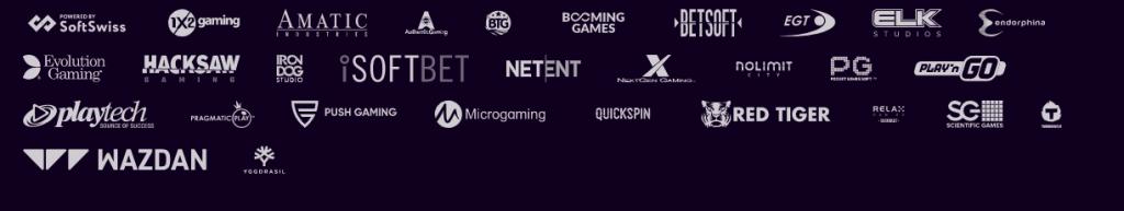 Welche Spieleanbieter sind im Dux Casino vertreten?