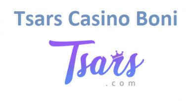 Tsars Casino Boni