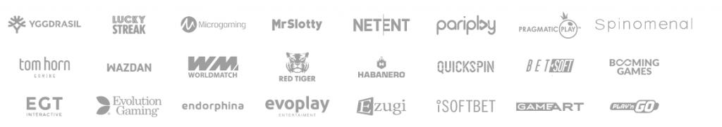 Welche Softwareanbieter sind hier vertreten?