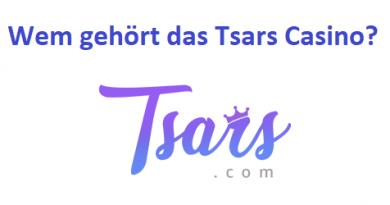 Wem gehört das Tsars Casino?